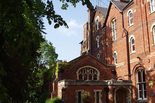 Photo of the front of Wycliffe Hall