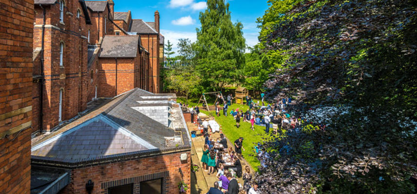 Summer event at Wycliffe Hall