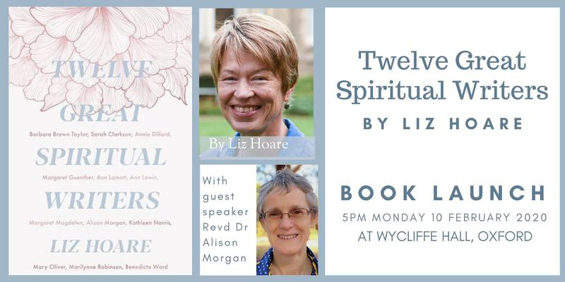 Flyer for Twelve Great Spiritual Writers book launch