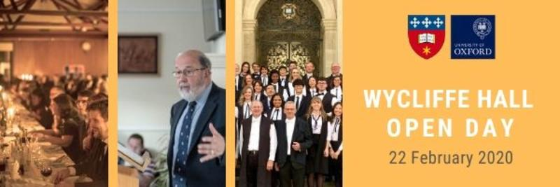 wycliffe hall open day january 2020